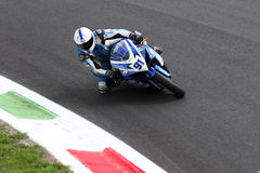Roberto Tamburini #91 on Suzuki GSX-R 600 NS Suriano Corse Supersport championship WSS Stock Photos