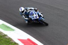 Roberto Tamburini #91 on Suzuki GSX-R 600 NS Suriano Corse Supersport championship WSS stock photos
