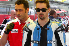 Roberto Tamburini #91 on Suzuki GSX-R 600 NS Suriano Corse Supersport championship WSS stock photo
