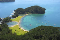 Roberton Island - Bay of Islands, New Zealand Royalty Free Stock Photography