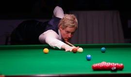 Нейл Robertson играет дружелюбный турнир в Бухаресте Стоковые Изображения
