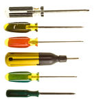 Robertson screwdrivers Stock Photography