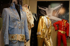 Robes de la scène d'Elvis Presley photo stock