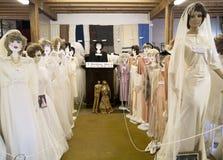 Robes de mariage de cru Image libre de droits