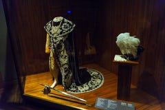 Robes en ketting van Oostenrijkse orde van de Ijzerkroon, Wenen, Au royalty-vrije stock afbeelding