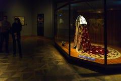 Robes en zwaard van orde in de Keizerschatkist of Kaiserliche royalty-vrije stock foto