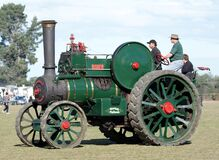 The Robey Traction Engine (11) Stock Image