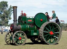 The Robey Traction Engine. Stock Image
