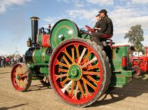 The Robey Traction Engine (12) Stock Image