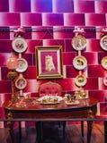 Robić Harry Poter jest jawnym przyciąganiem w Leavesden, Londyn który konserwuje ikonowych wsparcia i pokazuje, UK zdjęcie royalty free