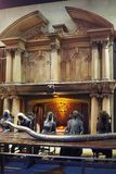 Robić Harry Poter jest jawnym przyciąganiem w Leavesden, Londyn który konserwuje ikonowych wsparcia i pokazuje, UK obrazy royalty free