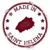 Robić w Świątobliwym Helena znaczku ilustracja wektor