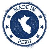 Robić w Peru znaczku ilustracja wektor