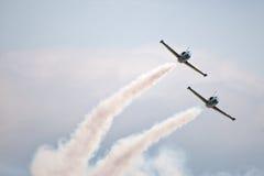 robią manoeuvres robić samoloty cywilny int Fotografia Royalty Free