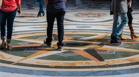 Robiący zakupy W Naples, Włochy Fotografia Royalty Free