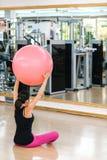 robić ćwiczeń pilates kobiety Fotografia Stock