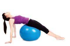 robić ćwiczeń sprawności fizycznej kobiety Fotografia Royalty Free