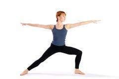 robić ćwiczenia kobiety joga Zdjęcia Royalty Free