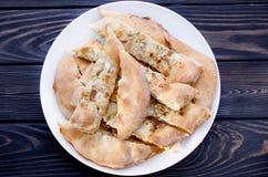Robić świeży piec chleb robić od lna, sezamu i sunflowe, zdjęcie royalty free