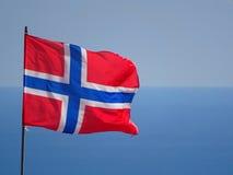 robić błękitny flaga norweski czerwieni wektoru biel Obrazy Stock