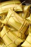 robić bananowy deser tajlandzki ryżu styl Zdjęcie Stock