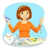 Robić biżuterii ilustracja wektor