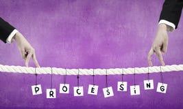 Robić biznesów postępom Zdjęcie Royalty Free