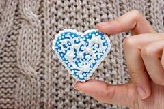 Robić domowej roboty bożych narodzeń ciastkom w różnorodnych kształtach obraz royalty free