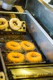 Robić donuts Obraz Stock