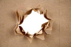 robić dziurę papier Zdjęcia Stock