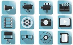 Robić filmu wyposażeniu Obrazy Royalty Free