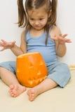 Robić Halloween latern obraz royalty free