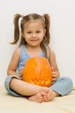 Robić Halloween latern fotografia stock