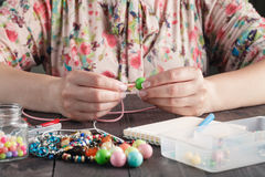 Robić handmade jewellery obraz royalty free