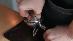 Robić kawa procesowi zdjęcie wideo