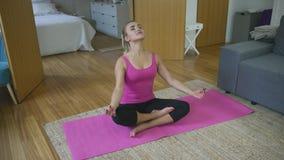 robić kobiety domowy joga zbiory