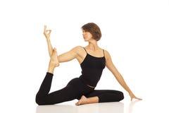 robić kobiety joga potomstwom obrazy stock