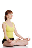 robić kobiety joga potomstwom zdjęcie stock