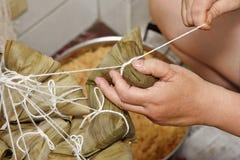 Robić ryżowej klusze Fotografia Stock