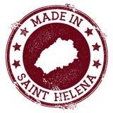 Robić w Świątobliwym Helena znaczku royalty ilustracja
