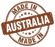 Robić w Australia znaczku royalty ilustracja