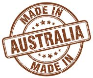 Robić w Australia znaczku ilustracji
