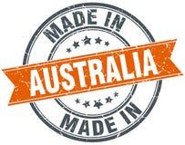 Robić w Australia znaczku ilustracja wektor