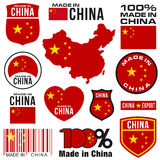 Robić w Chiny royalty ilustracja