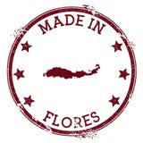 Robić w Flores znaczku ilustracji