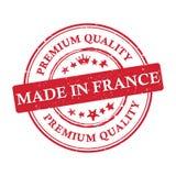 Robić w Francja, premii ilości printable sztandar, majcher/ Zdjęcie Stock