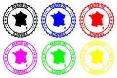 Robić w Francja wektor, - pieczątka - ilustracja wektor