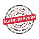 Robić w Hiszpania, premii ilości printable sztandar, majcher/ Obraz Stock