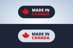 Robić w Kanada odznace ilustracji