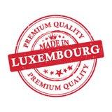 Robić w Luksemburg, premii ilości printable sztandar, majcher/ Obraz Royalty Free